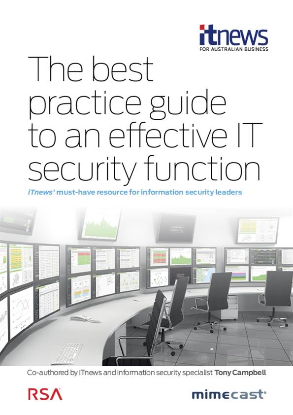 The best practice guide to an effective IT security function