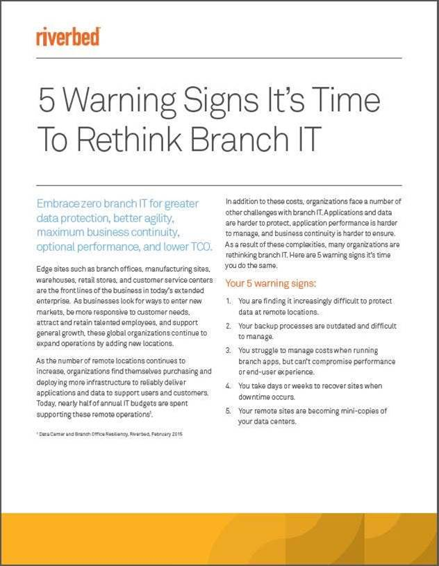 Is Managing Your Branch IT More Challenging than it Needs to Be?