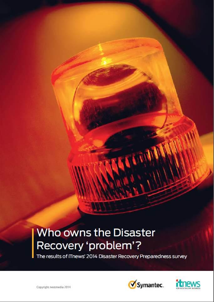Who owns the Disaster Recovery 'problem'?