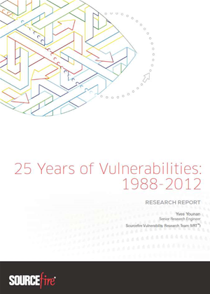 25 Years of Vulnerabilities: Research Report