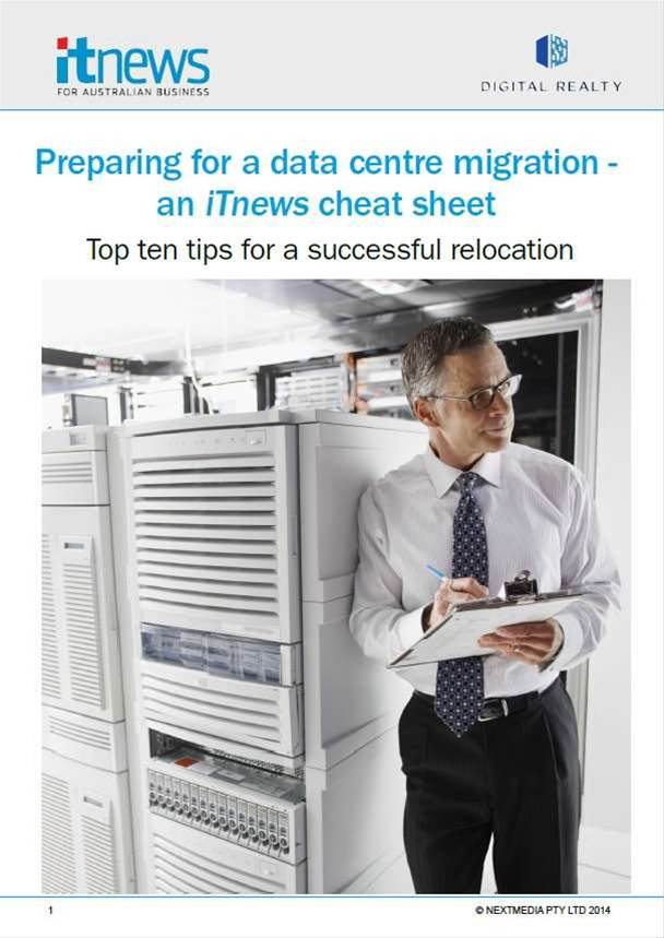 Preparing for a data centre migration