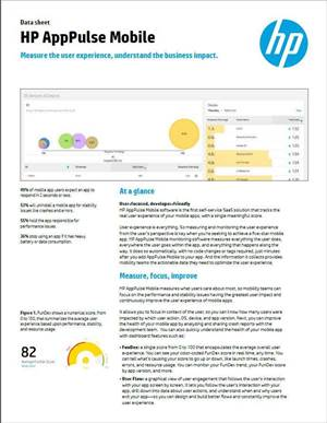 HP AppPulse Mobile