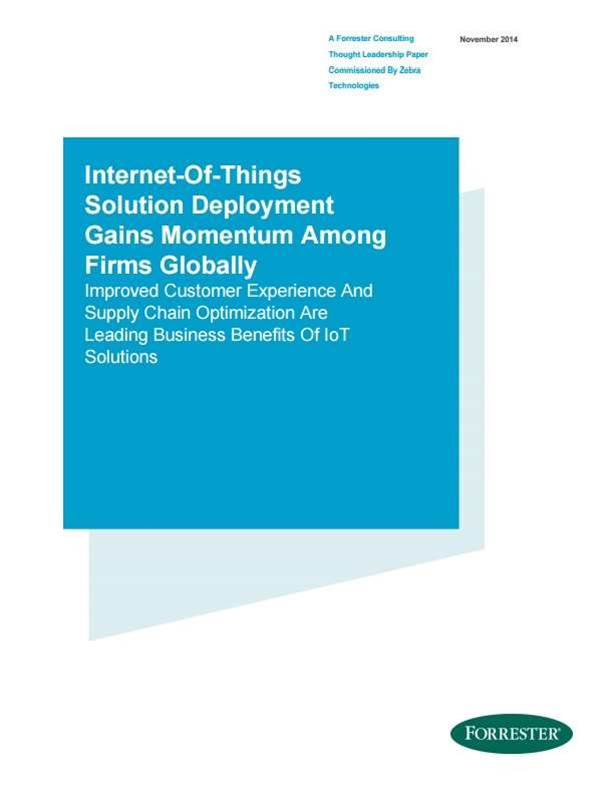 IoT Deployments Gain Momentum