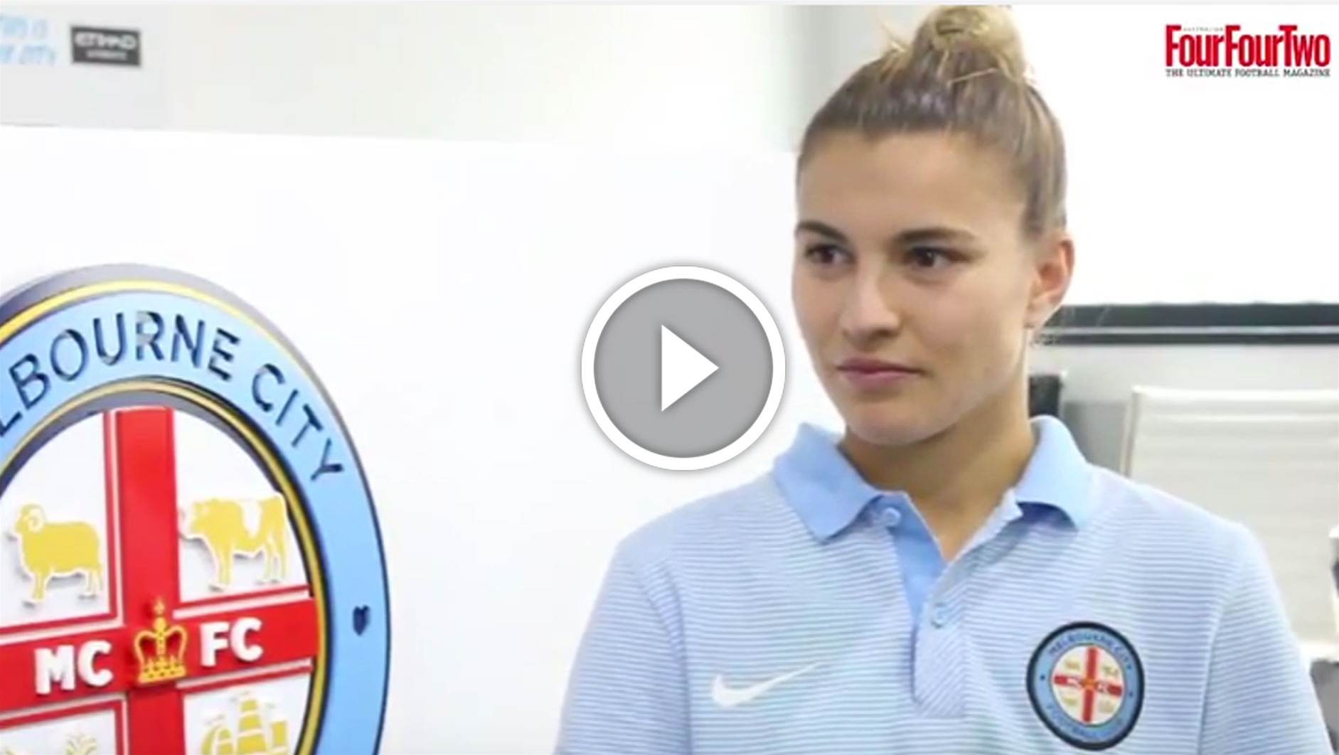 Steph Catley chats City, Orlando and Matildas
