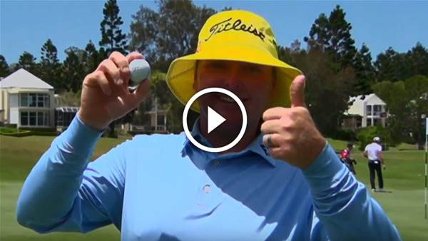 VIDEO: Jarrod Lyle's PGA hole-in-one