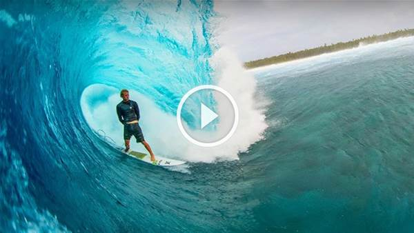 Distance Between Dreams or JJF and Ian Walsh get really, really tubed