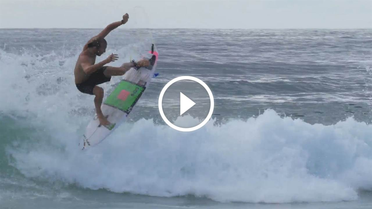 Video: Owen Wright's Pre-Return Surf Session