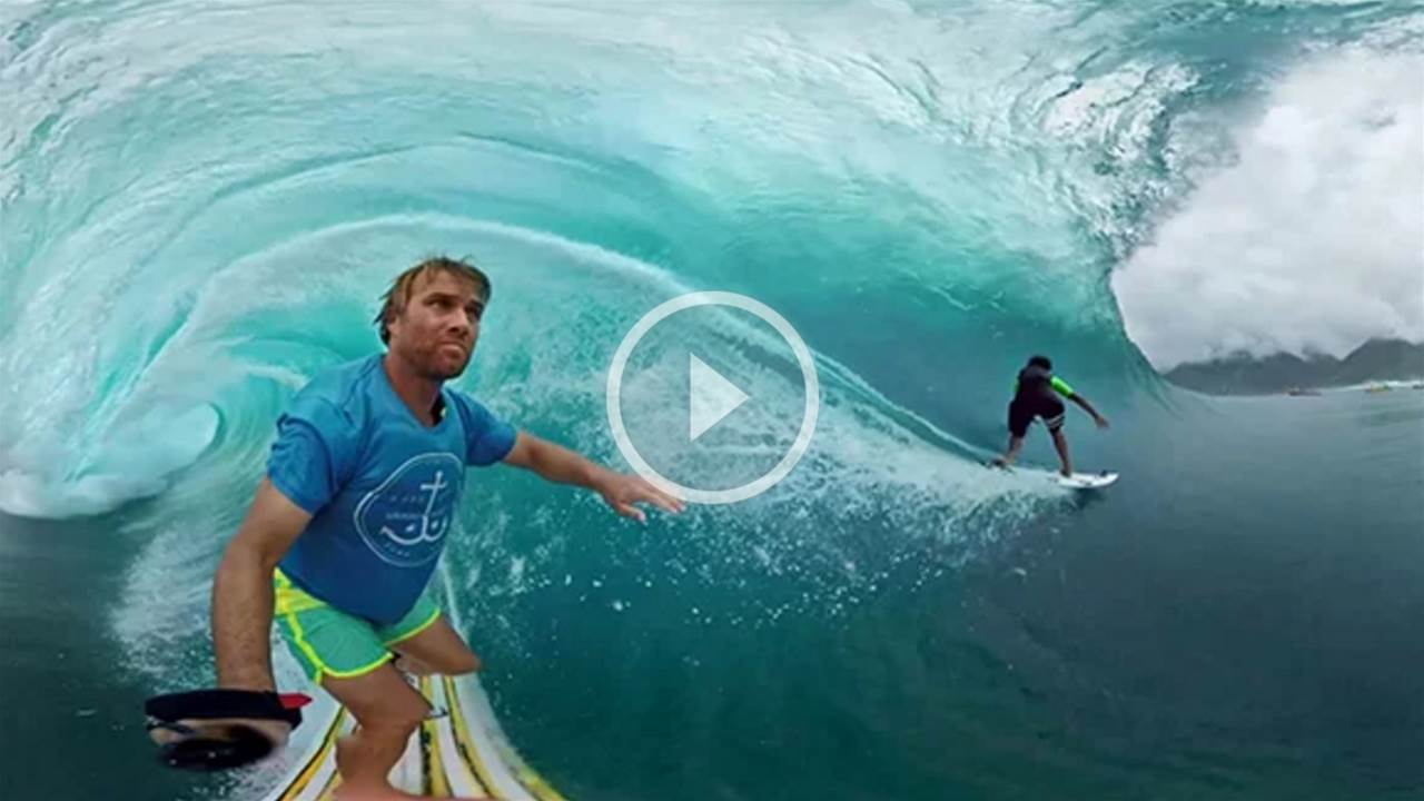 Spend Three Minutes Immersed in Virtual Reality at Teahupoo