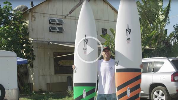 The Epic Quiver Of Shane Dorian