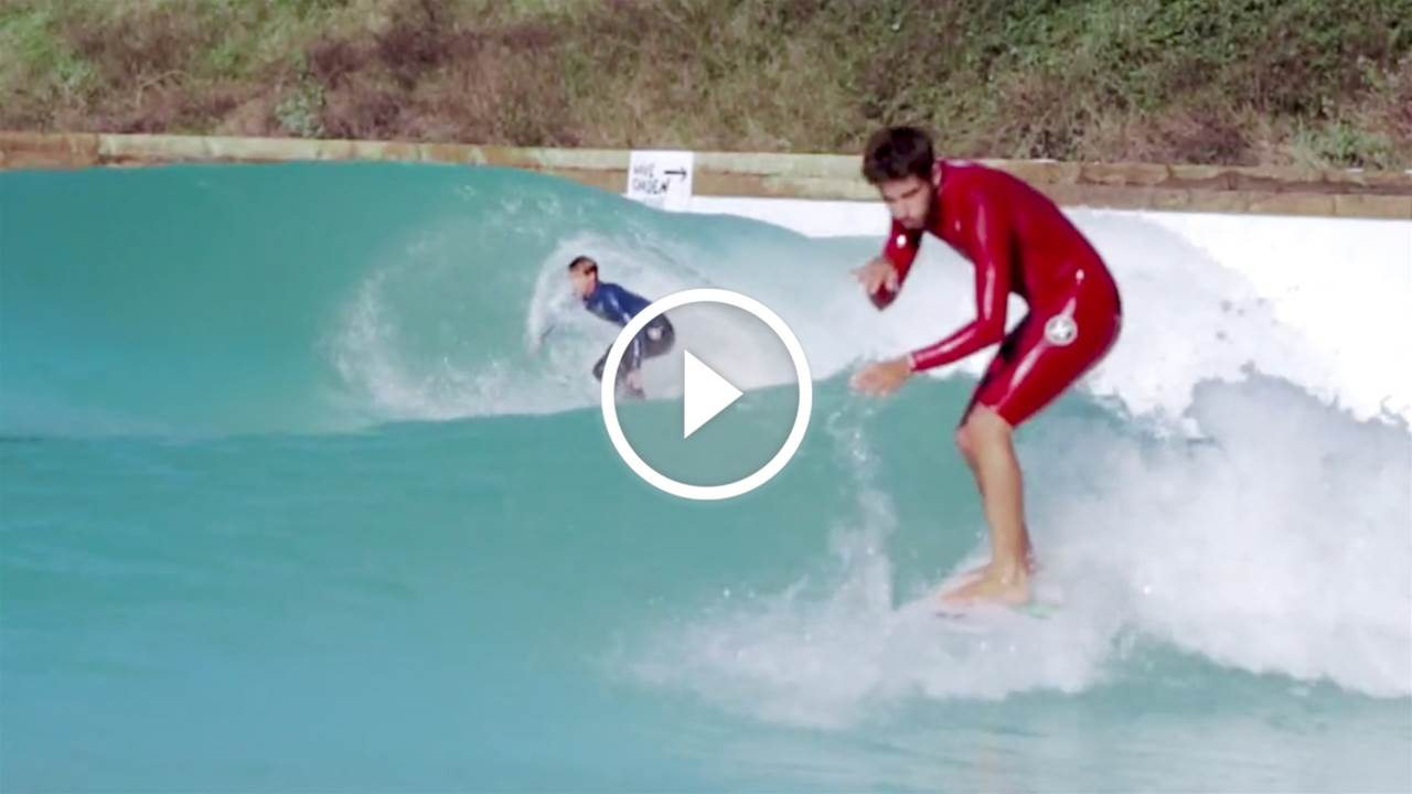 Watch: Five Minutes in the New Wavegarden With Your Favourite Surfers