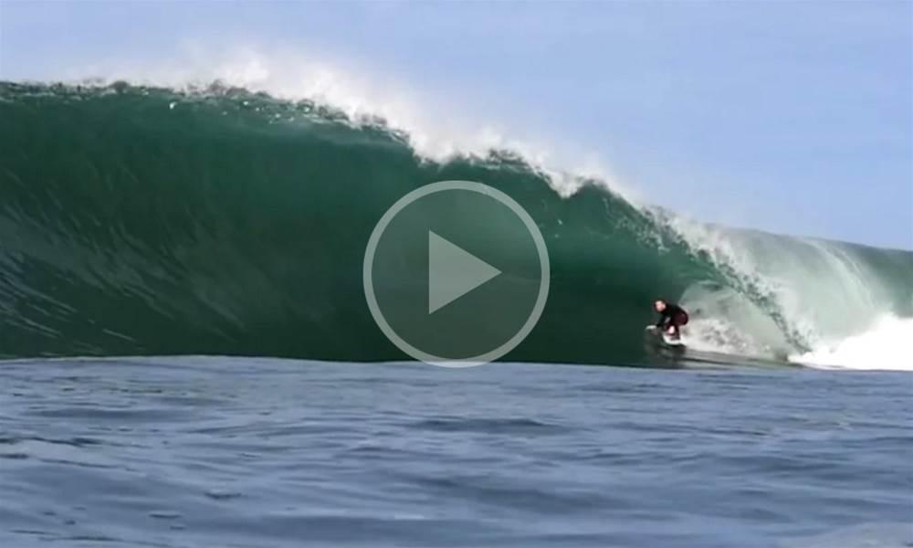 Watch | Cape Fear Lights Up In Last Weekends SE Swell