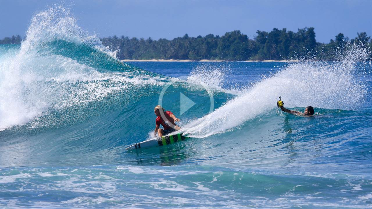 Burning Rails in the Mentawai