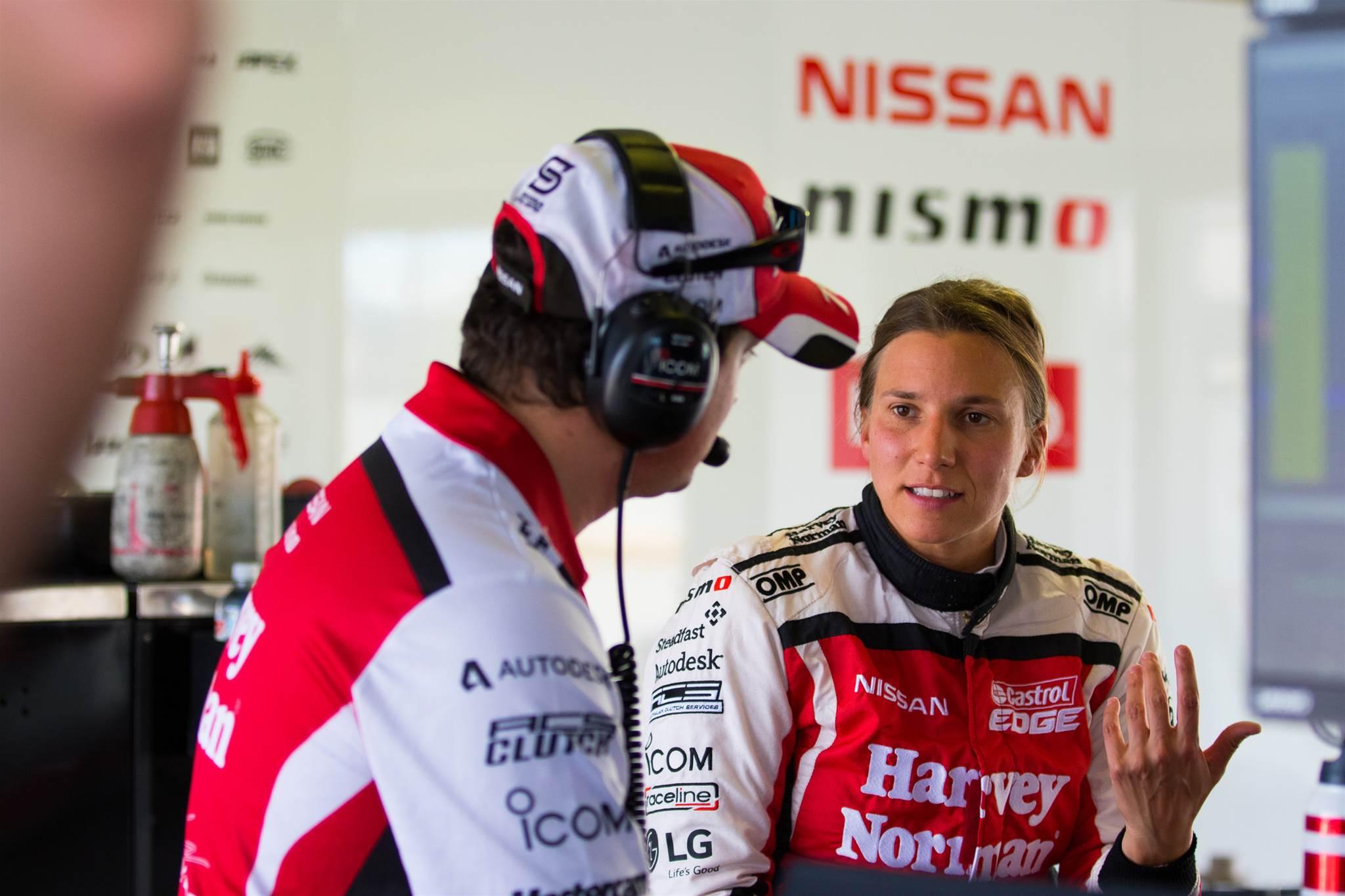 De Silvestro completes final Supercars rookie test