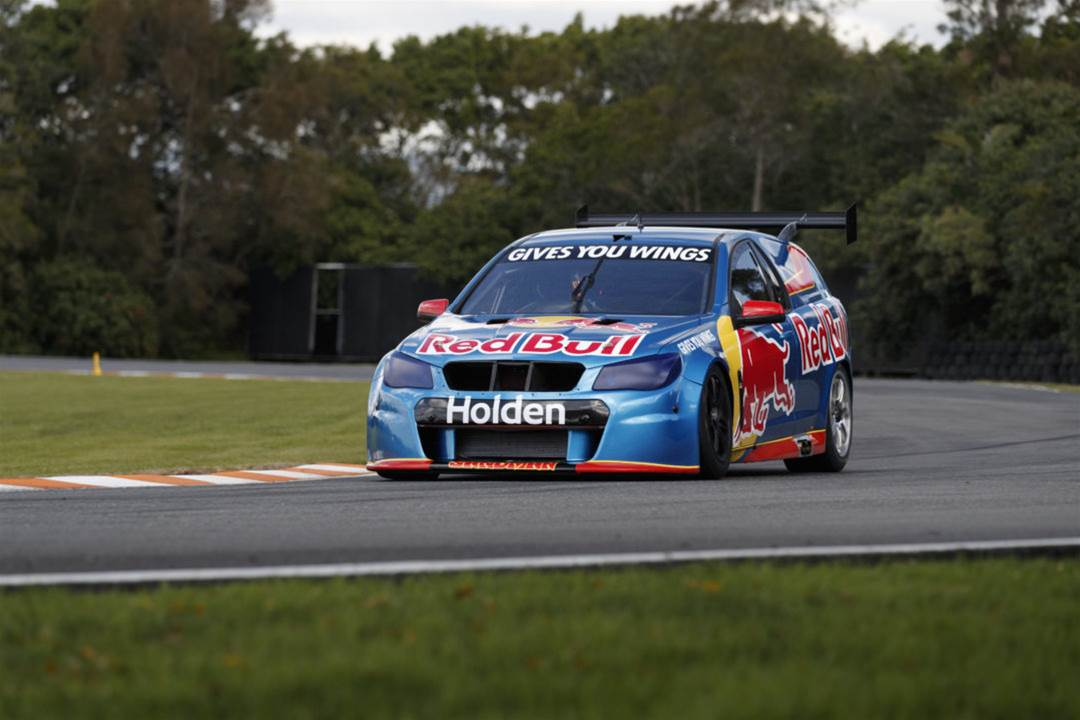 Craig Lowndes tests new Holden V6 Turbo Supercar engine