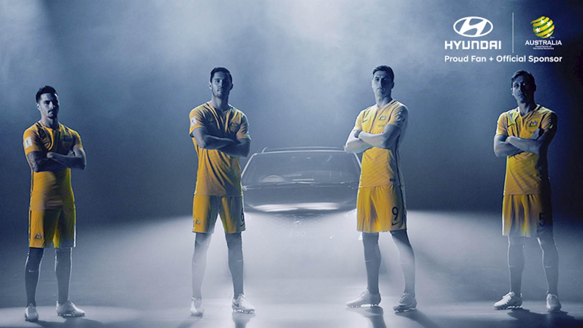 Socceroos Made In The Hyundai A-League