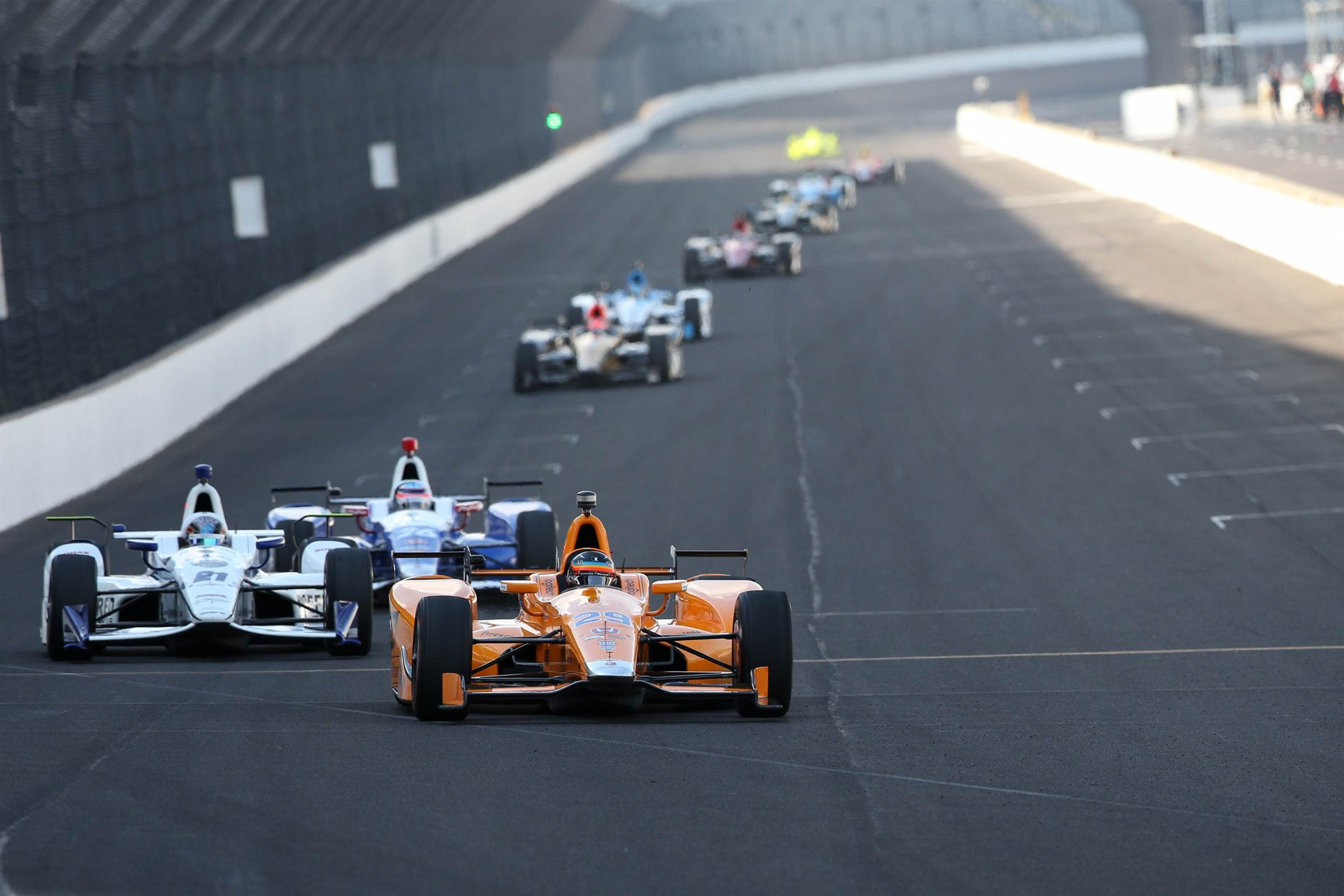 Video: Alonso fourth fastest in Indy practice day four