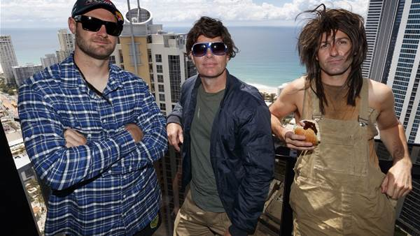 Jdub, Cappy and Gizz Gold Coastin' for the GC600