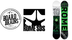 Board Brains: Rome Snowboard 'Agent Rocker'