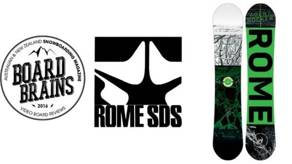 Board Brains: Rome Snowboard 'Agent Rocker'