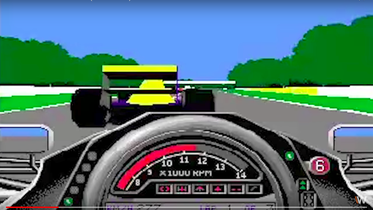 VIDEO: The evolution of F1 video games