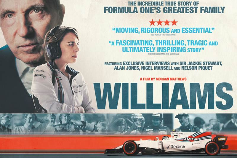 New Williams documentary screens in London