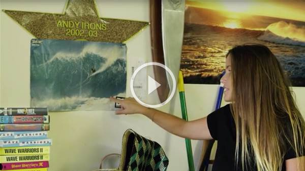 A Look Inside Andy Irons' Garage