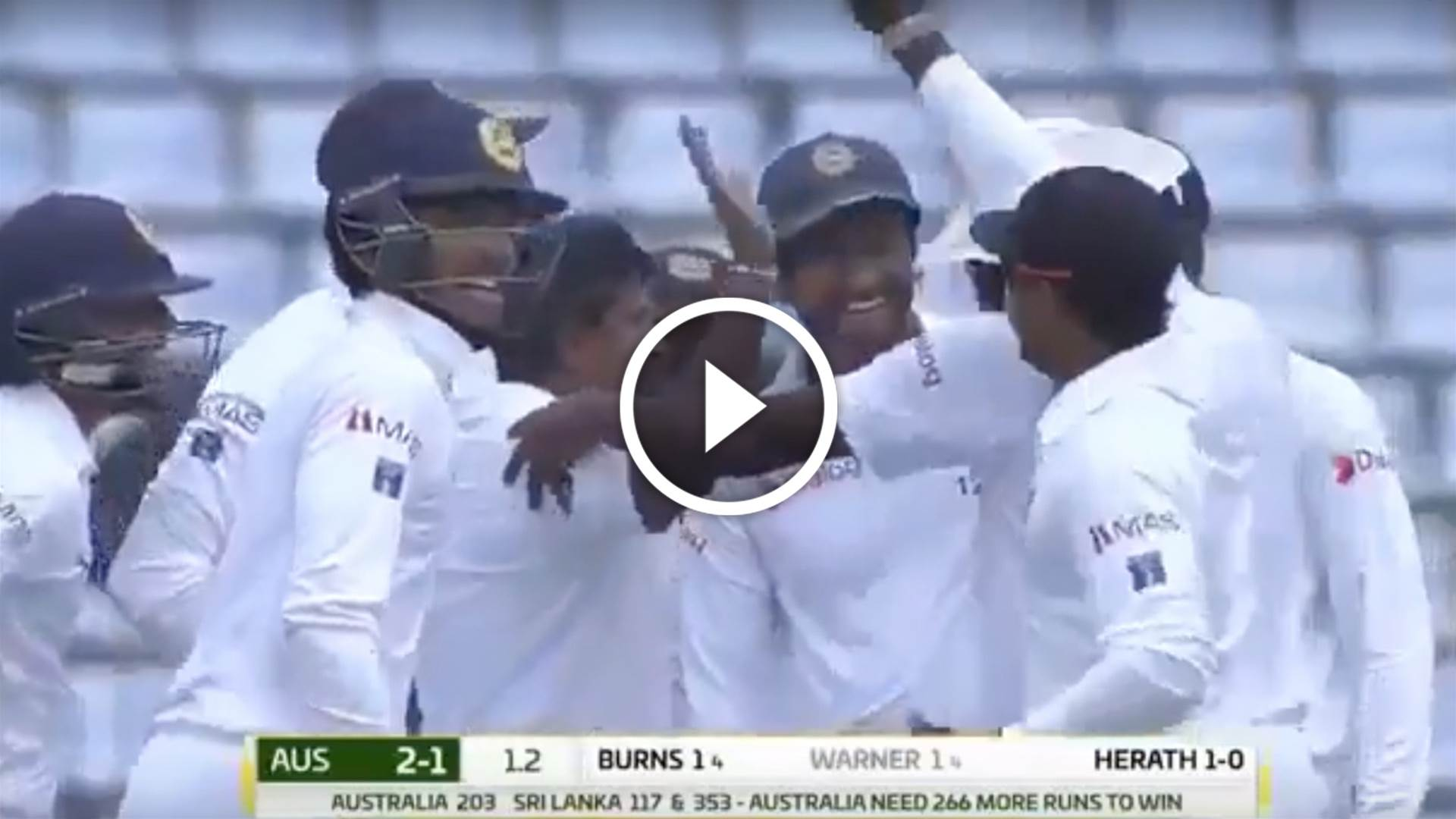 Herath wreaks havoc on day 5