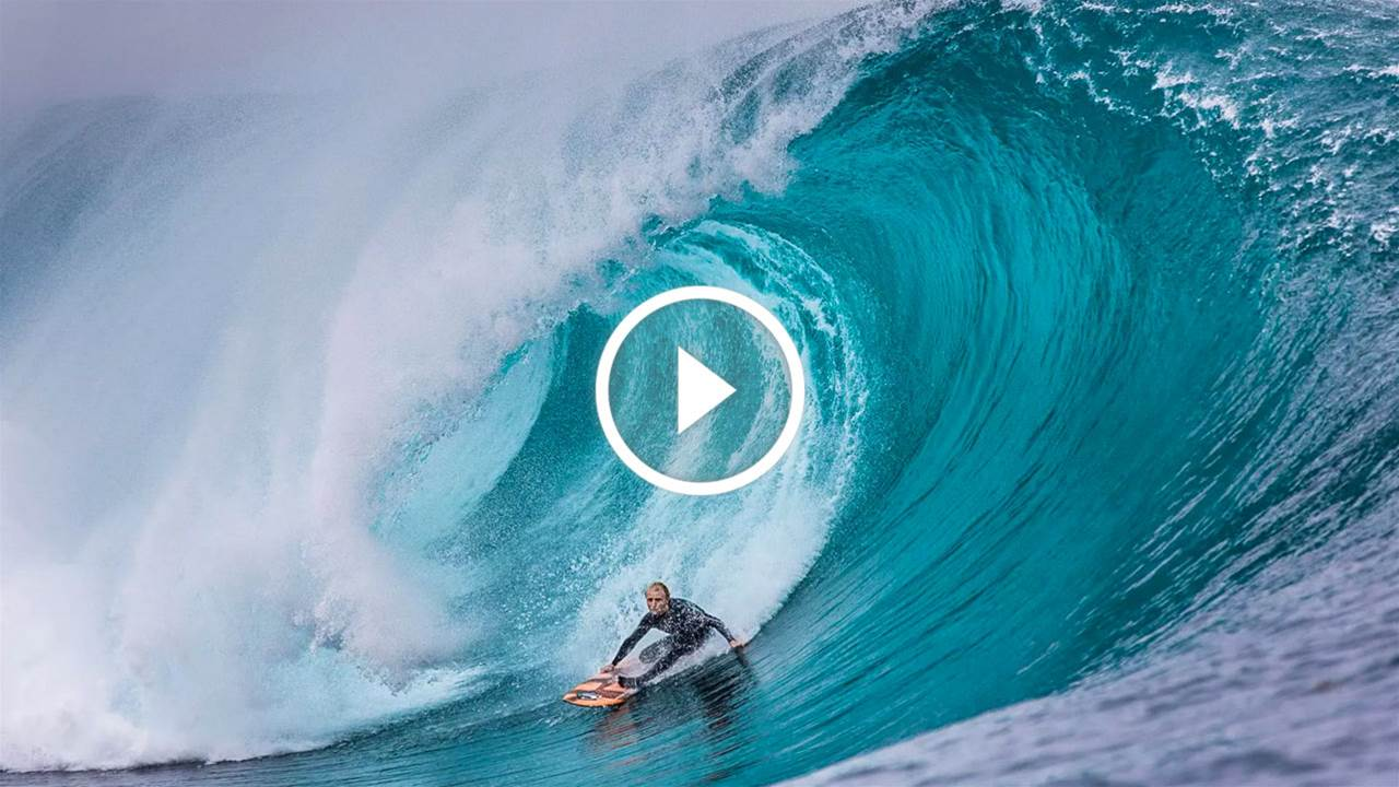 Russell Bierke Has His First Surf Back Since Injury