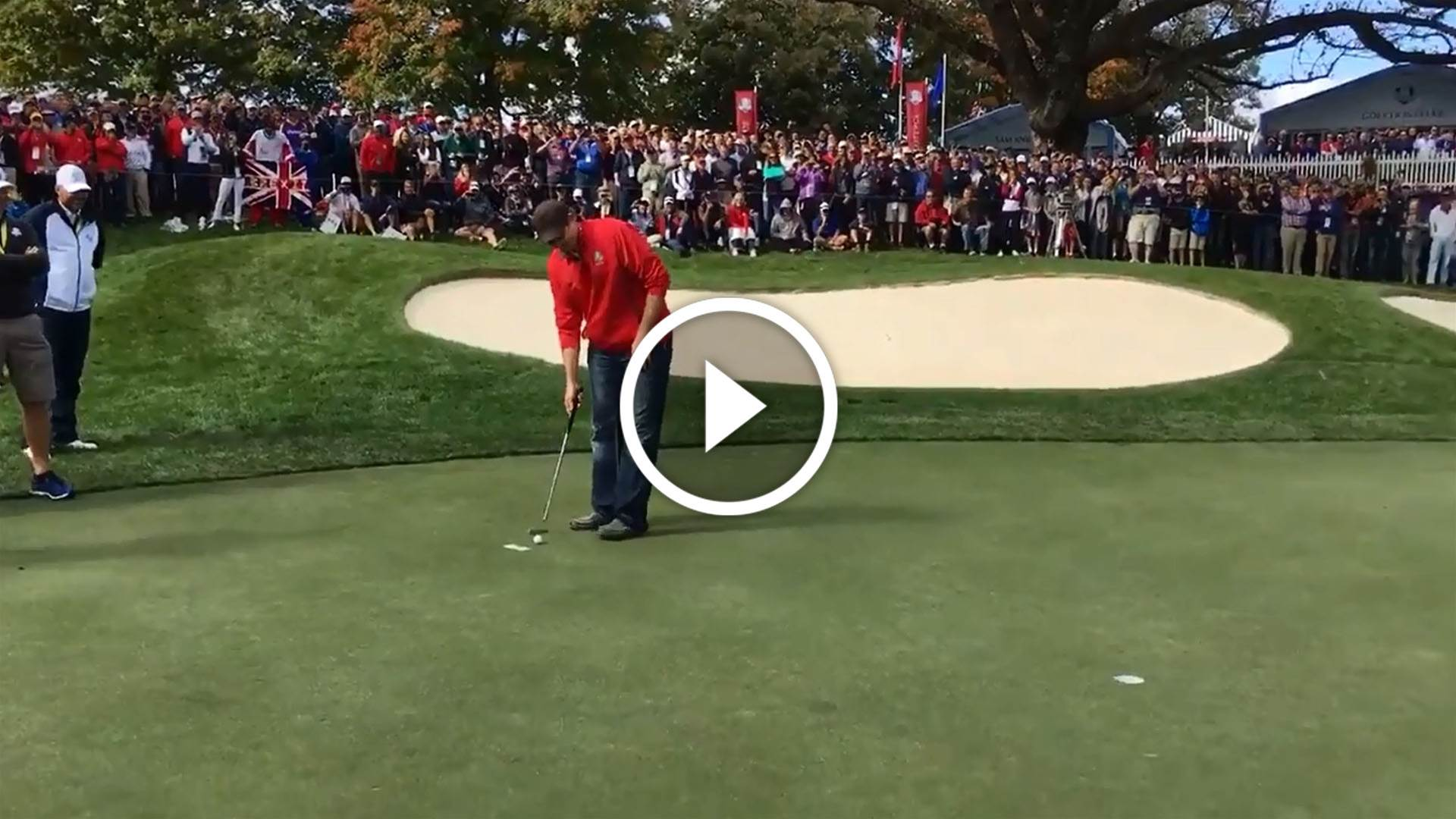 Heckler trumps McIlroy at Ryder Cup
