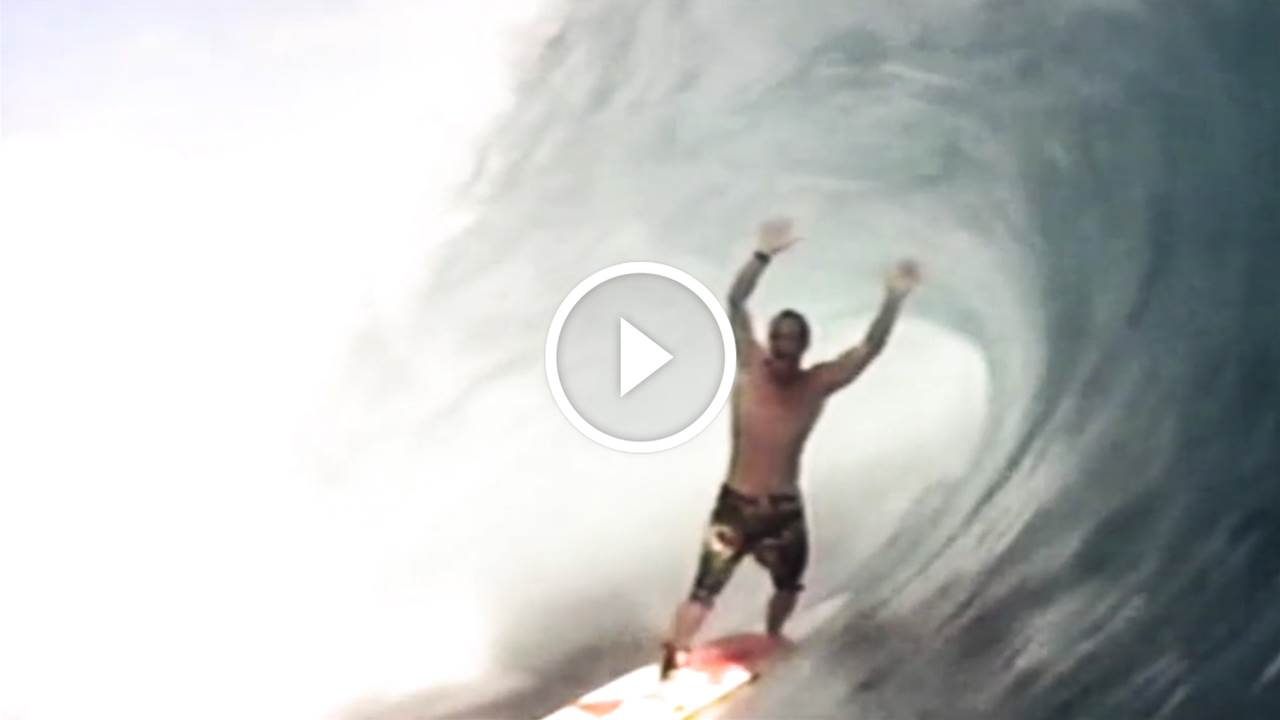 Vintage Teahupoo: Tom Carroll & Kelly Slater 1996