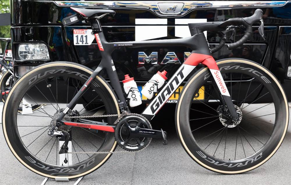 First Look: The new Giant Propel Disc