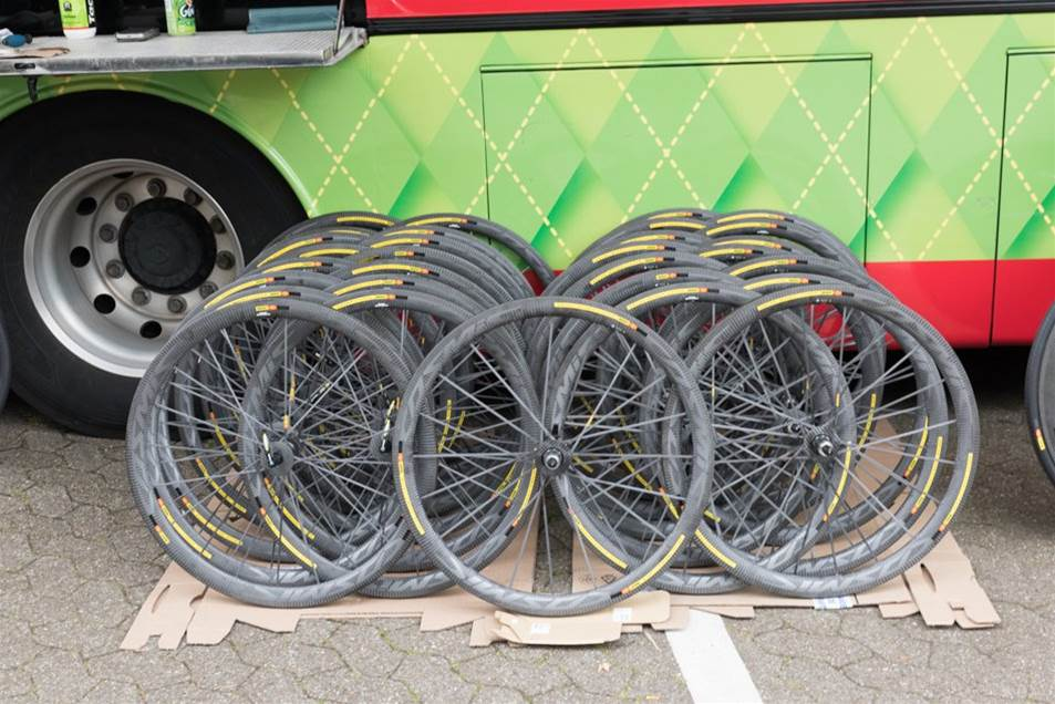 2017 Tour de France Tech: Wheels and Tyres​