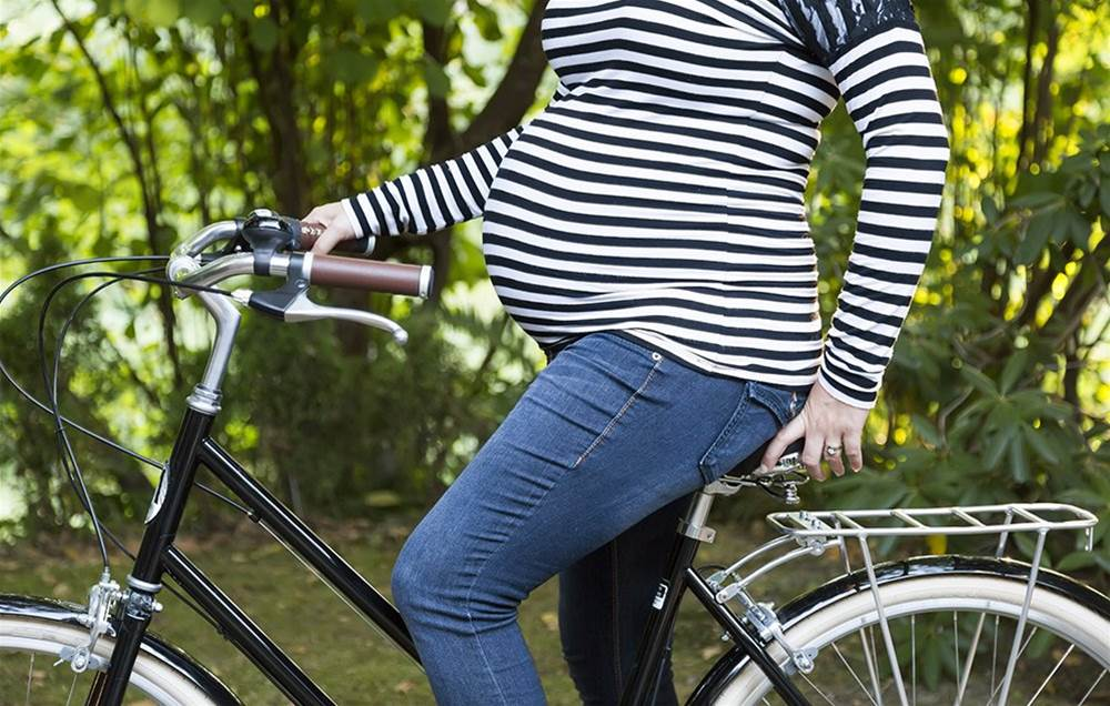 Can you bike while pregnant? 6 tips to ride safely when you're expecting
