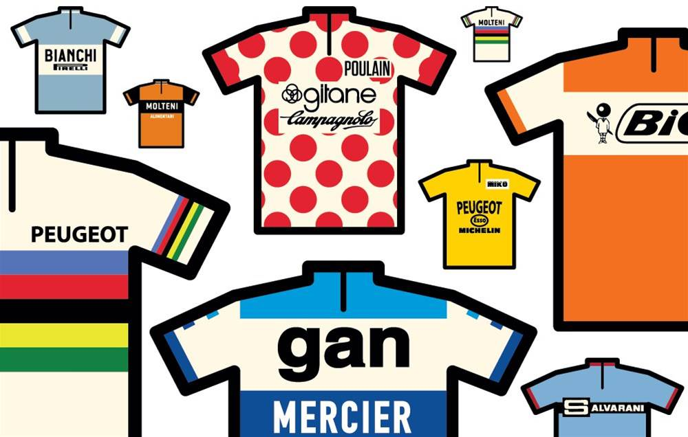 The stories behind eight iconic cycling jerseys