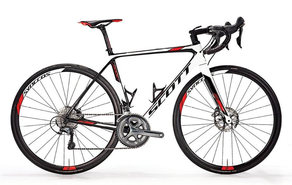 Ride hard - and stop fast - on the Scott Addict 20 Disc