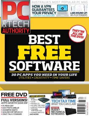 PC & Tech Authority Magazine Issue: June 2017