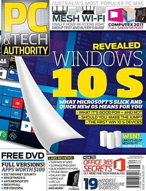 PC & Tech Authority Magazine Issue: August 2017
