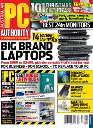 PC & Tech Authority Magazine Issue: December, 2009