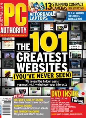 PC & Tech Authority Magazine Issue: August, 2009