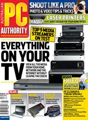 PC & Tech Authority Magazine Issue: March, 2010