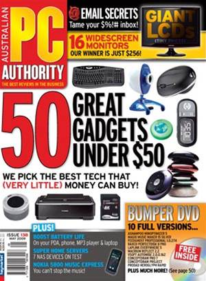 PC & Tech Authority Magazine Issue: May, 2009