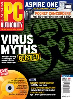 PC & Tech Authority Magazine Issue: October, 2008