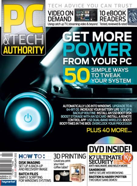 PC & Tech Authority Magazine Issue: Feb, 2012