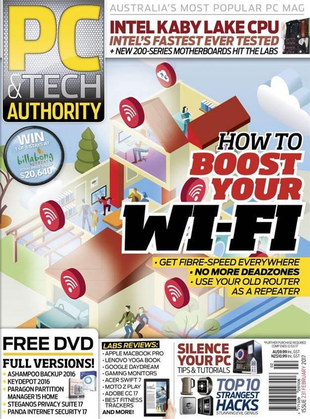 PC & Tech Authority Magazine Issue: February 2017