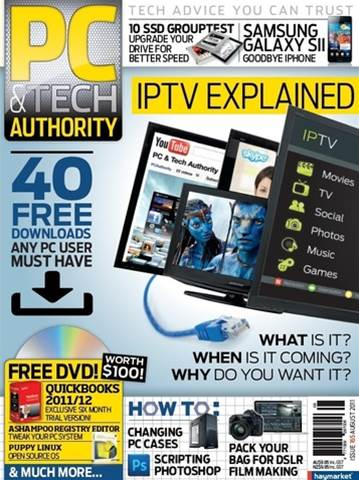 PC & Tech Authority Magazine Issue: August, 2011