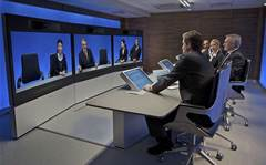 Video conferencing: Face to face, far away