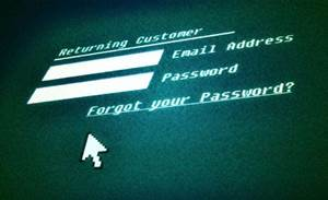Do you know where your user IDs and passwords are?