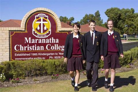 Maranatha Christian College solution accesses all areas