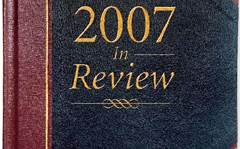 2007 Year in Review