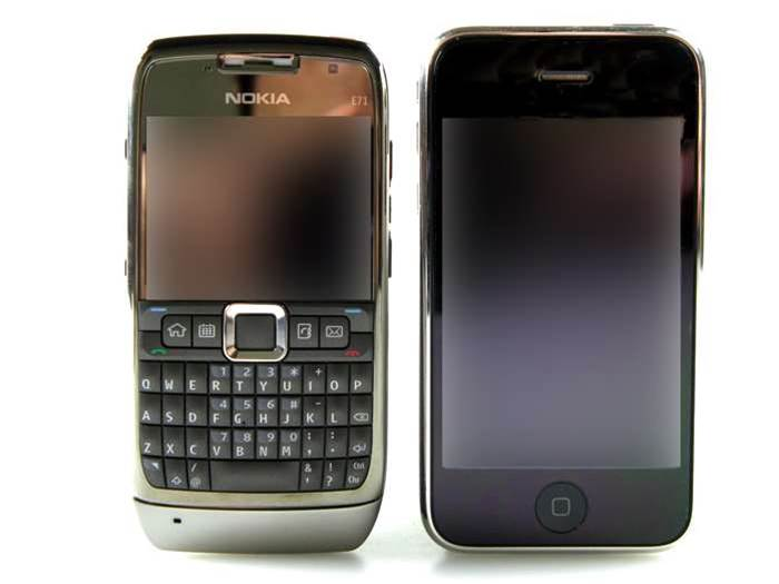 Photo gallery: Nokia E71 faces off against iPhone 3G